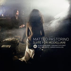 "couverture de l'album ""Suite for Modigliani"" de Matteo Pastorino"