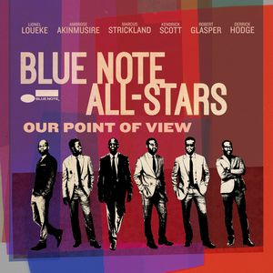 "Couverture de l'album Our Point of View"" du Blue Note All Stars"