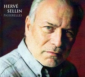 """Couverture de l'album """"Passerelles"""" du pianiste Hervé Sellin"""