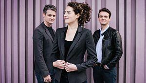 le trio Aires avec Airelle Besson-Edouard Ferlet-Stephane Kerecki