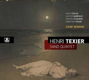 """Couverture de l'album du contrebassiste Henri Texier, """"Sand Woman"""""""