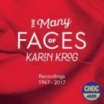"Couverture de l'album ""The Many Faces"" de Karin Krog,"