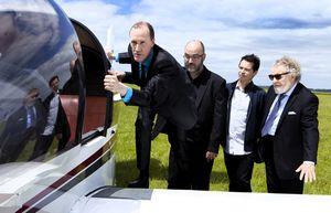 """Linx-Ceccarelli-Goualch-Imbert-embarquent sur l'album """"7000 miles"""""""
