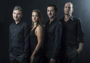 Les musiciens du Cuarteto Tafi