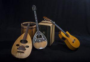 Les instruments de musique du Cuarteto Tafi