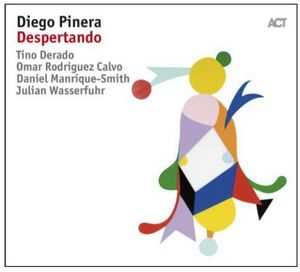"Couverture de l'album ""Despertando"" de Diego Pinera"