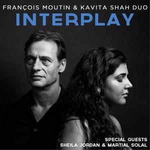 """Couverture de l'album """"Interplay"""" du duo François Moutin et Kavita Shah"""
