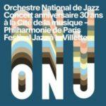 ONJ, Concert Anniversaire 30 ans, la couverture de l'album