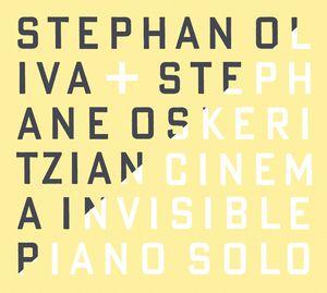 """Couverture de l'album """"Cinéma Invisible"""" de Stephan Oliva"""