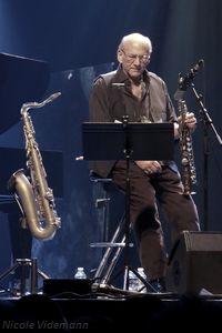 Le saxophoniste Dave Liebman au Festival A Vaulx Jazz en 2015