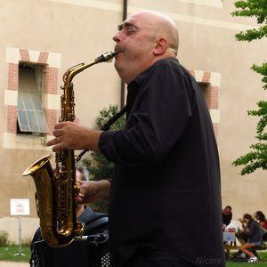 Christophe Monniot au Concert Pique-nique de Jazz Campus le 24 aout 2018