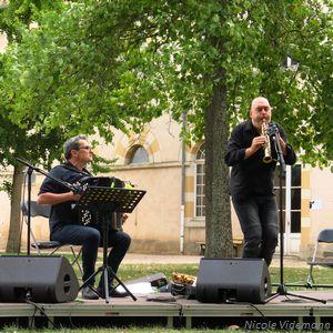 Christophe Monniot et Didier Ithursarry au Concert Pique-nique de Jazz Campus le 24 aout 2018