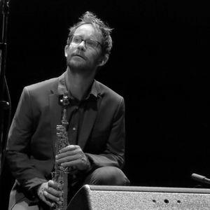 Emile Parisien dans le projet Dadada à Jazz Campus en Clunisois, le 24 aout 201