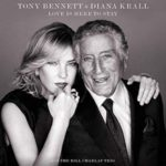 "Couverture de l'album ""Love Is Here To"" par Tony Bennet et Diana Krall"