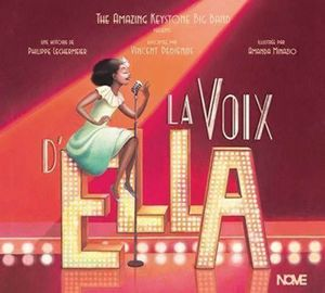 couverture de l'album La voix d'Ella par The Amazing Keystone Big Band