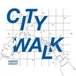 couverture de l'album City Walk du pianiste Adrien Chicot