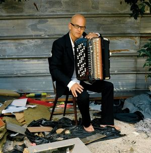 L'accordéoniste Daniel Mille