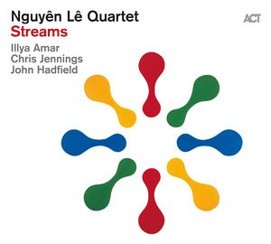 courture de l'album Streams du Nguyen Le Quartet