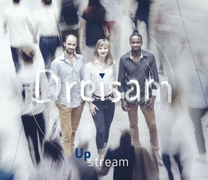 couvertue de l'album Upstream du trio Dreisam