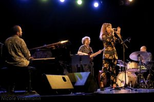 Camille Bertault Quartet à Ecully le 12 avril 2019