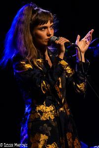 La chanteuse Camille Bertault à Ecully, photo de Didier Martinez