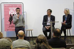 B Tanguy, P Curtaud et M Picot présentent Jazz Day Lyon 2019