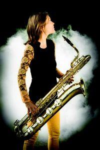 La saxophoniste Céline Bonacina