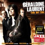 Géraldine Laurent, pochette de l'album Time Out Trio
