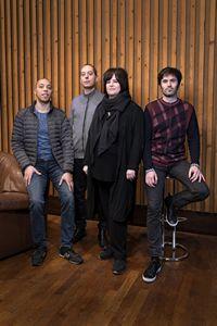 Donald kontomanou, Yoni Zelnik, Géraldine Laurent et Paul Laye, Enregistrement de l'album COOKING au Studios Ferber