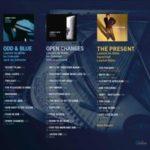 Laurent de Wilde sort Three trios avec Odd and Blue, Open Changes et The Present - Verso de la pochette du coffret