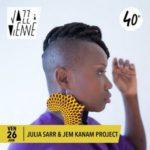 Julia Sarr et Jem Kanam le 26 juin 2020, visuel 2020 de Jazz à Vienne