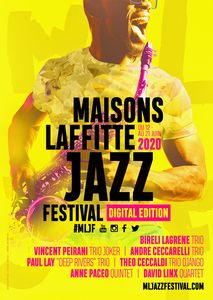 Affiche Maisons-Laffitte Jazz Festival #Digital Edition 2020