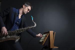 Jazz Campus en Clunisois Encore Là avec Sylvain Rifflet©Guillaume Reynaud