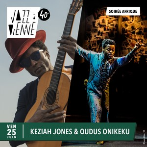 Keziah Jones - Jazz à Vienne le 25/07/21